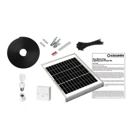 Sada solárneho osvetlenia SolarCentre Geo 1 SS9048