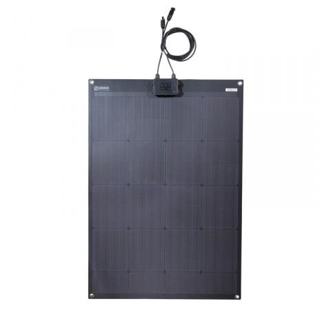 Flexibilný solárny panel Lensun 12V 100Wp čierny