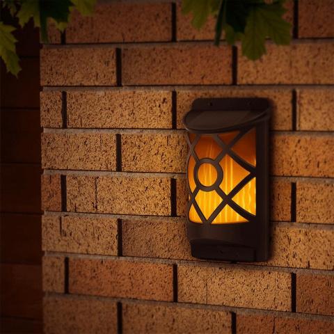 Záhradná solárna lampa POWERplus Kiwi nástenná