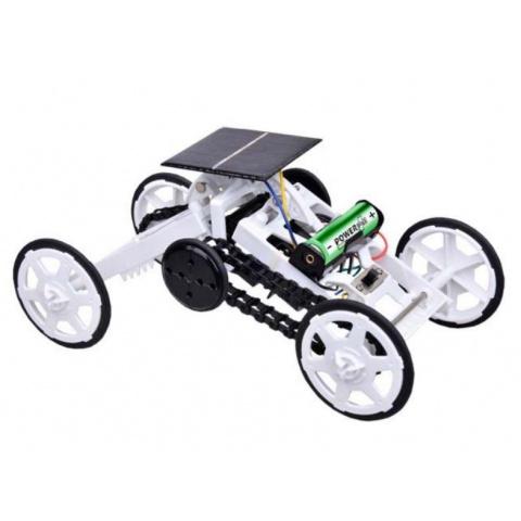 Solárne autíčko POWERplus Beaver hybridné s AA batériou