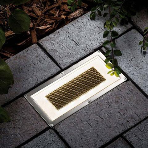 Solárne podlahové osvetlenie SolarCentre Onyx Brick Light