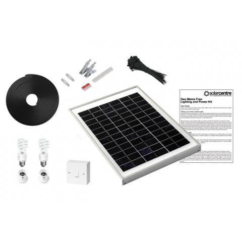 Sada solárneho osvetlenia SolarCentre Geo 2 SS9049