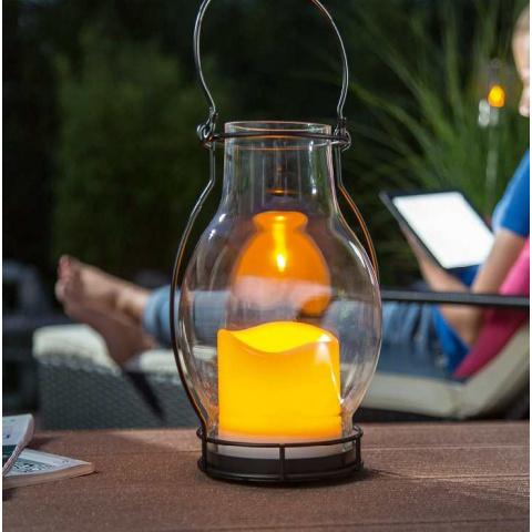 Solárna LED dekoračná sviečka Esotec Deko Dream 102081