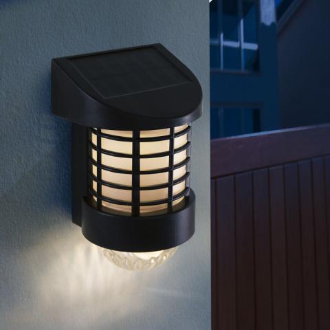 LED solárna nástenná lampa Garden of Eden