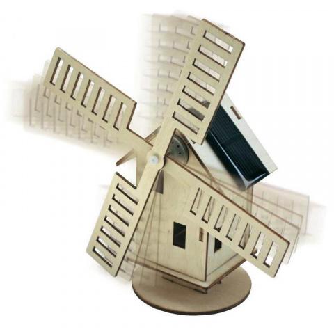Solárny veterný mlyn Sol Expert 40009