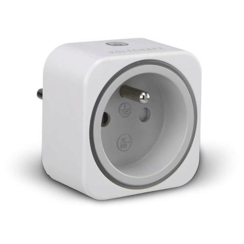 Zásuvkový merač spotreby a spínacia zásuvka 2V1 Voltcraft SEM6000FR s Bluetooth