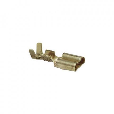Konektor Faston zásuvka 6,3 mm 1 - 2,5 mm² 1pólový