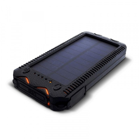 Solárny powerbank 1W 12000mAh S12000Y oranžová