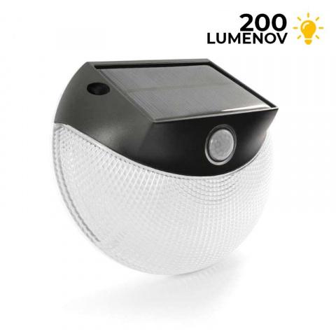 Solárne LED osvetlenie na stenu s pohybovým senzorom SolarCentre Guide SS9934