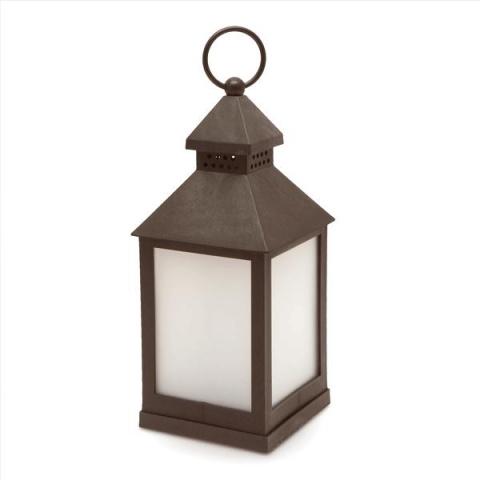LED lampa na batérie imitujúca plamene 11707BK - čierna