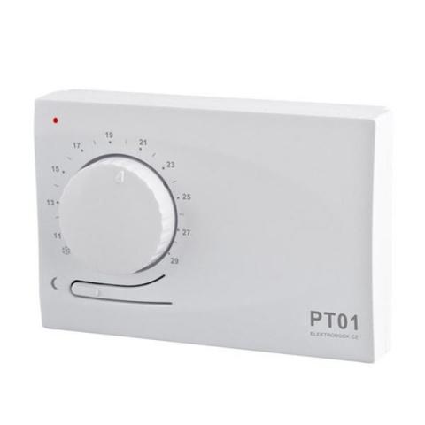 Elektronický priestorový termostat PT01