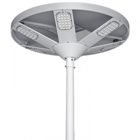 Solárna pouličná lampa SLL26 61W 6000 Lumenov s bluetooth