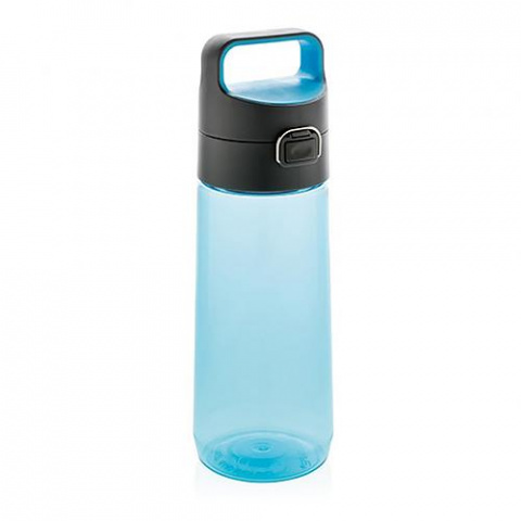 Fľaša na vodu s uzamykateľným viečkom XD Design 600ml modrá