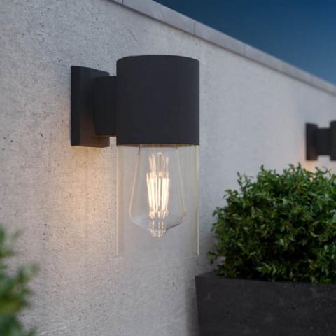 Solárne retro nástenné svetlo SolarCentre Salcombe 50 lm teplá biela