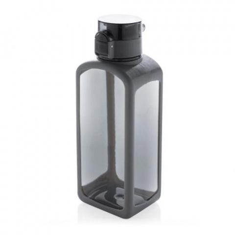 Fľaša na vodu XD Xclusive s uzamykateľným viečkom 600ml čierna
