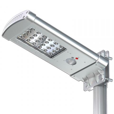 Solárna pouličná lampa na stĺp SSL01 7W 1000lm