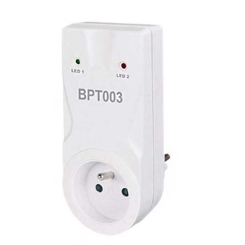 Bezdrôtový prijímač do zásuvky BT003 pre termostaty BT010 alebo BT710