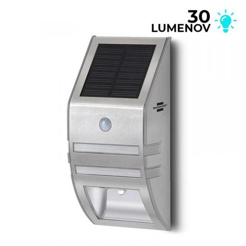 Solárna nástenná LED lampa SOL WL Brennenstuhl 1170780 s detektorom pohybu