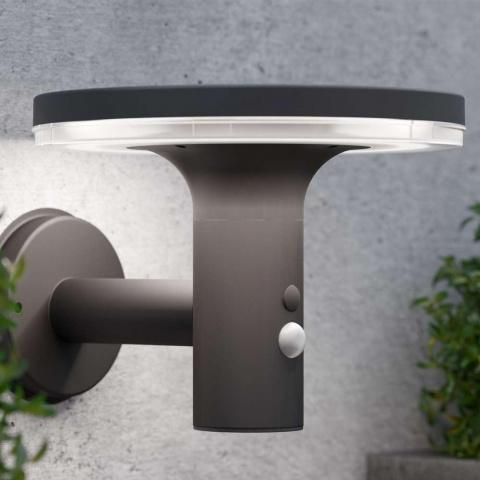 Solárne nástenné osvetlenie SolarCentre Blulite Motion Bluetooth Speaker Light