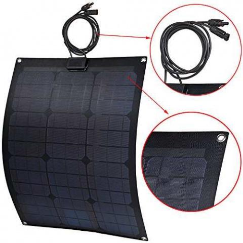 Flexibilný solárny panel Lensun 12V 30Wp