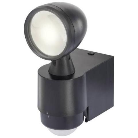 Vonkajší LED reflektor s PIR senzorom Renkforce Cadiz 1 W, neutrálna biela