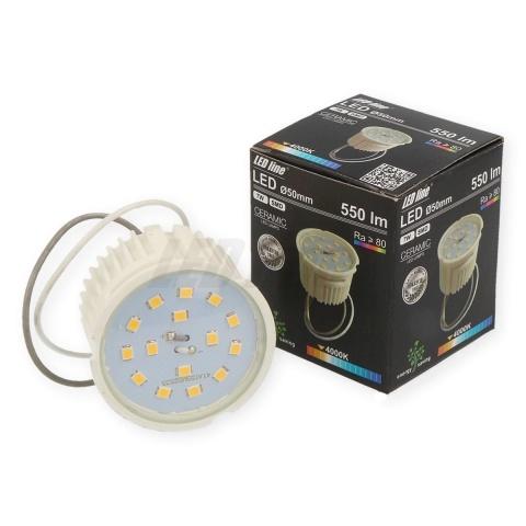 Krokovo stmievateľná LED žiarovka 7W neutrálna biela 230V