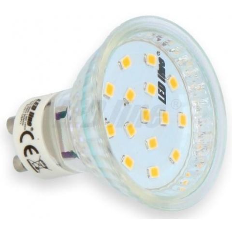 LED žiarovka 1W SMD 2835 Studená biela GU10