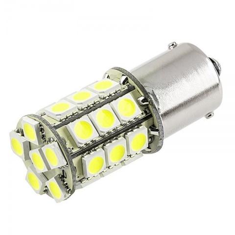 LED auto žiarovka BA15S 27 SMD5050 P21W