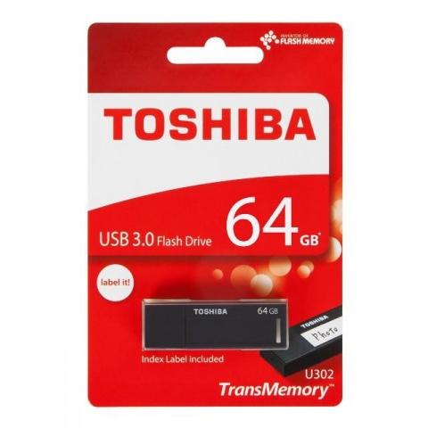 USB Kľúč 64GB 3.0  U302 Toshiba čierny