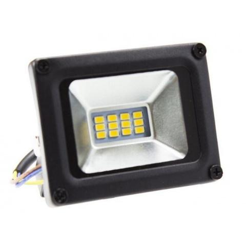 LED reflektor 10W Studená biela