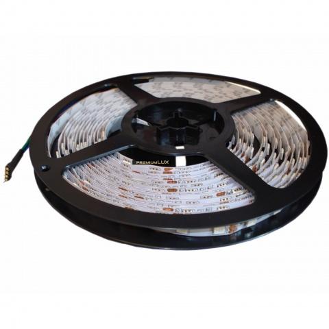 1m LED pásik RGB 60 SMD5050/m PREMIUM IP20 (rolka 50m)