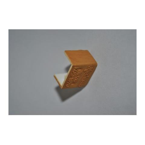 Mutlusan 16X16 kryt koncový(imit. dreva - tmavý orech)