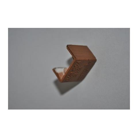 Mutlusan 16X16 kryt koncový(imit.dreva - hruška)
