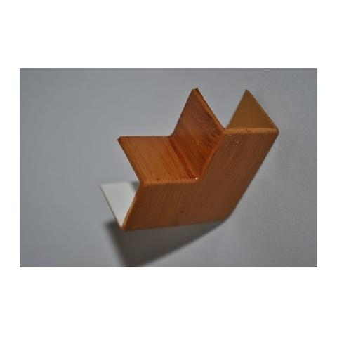 Mutlusan 16X16 L kryt ohybový(imit.dreva - hruška)