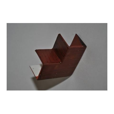 Mutlusan 16X16 L kryt ohybový(imit.dreva - MAHAGÓN)