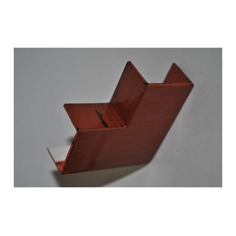 Mutlusan 25X16 L kryt ohybový(imit. dreva - MERBAU)