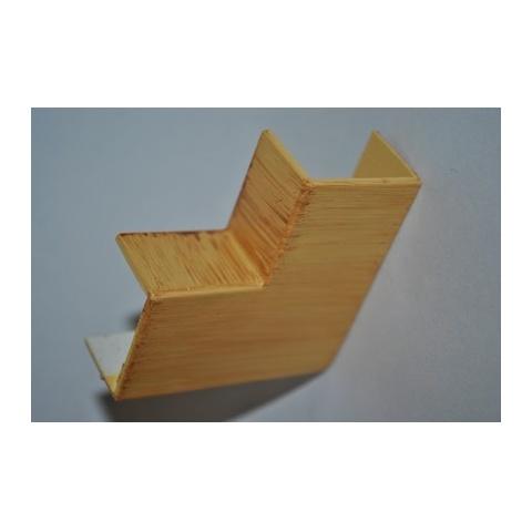 Mutlusan 25X16 L kryt ohybový(imit. dreva - SVETLÝ BUK)