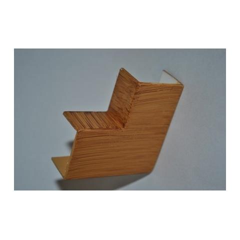 Mutlusan 25X16 L kryt ohybový(imit.dreva - hruška)