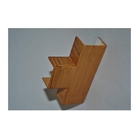 Mutlusan 25X16 T kryt odbočný(imit.dreva - hruška)