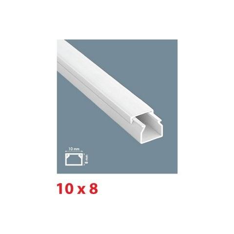 Mutlusan lišta inštalačná PVC 10x8