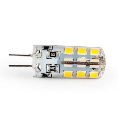 LED žiarovka 3.2W Studena biela 12V DC SMD2835 G4