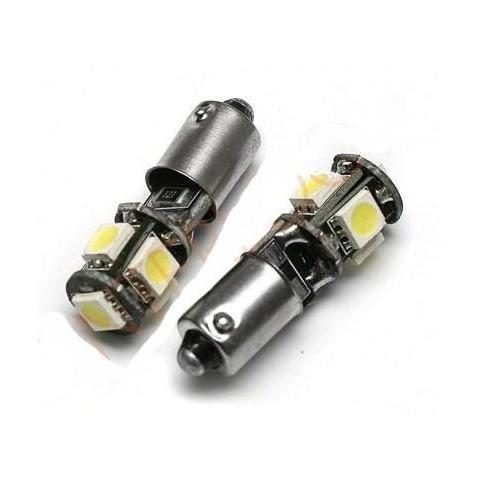 LED auto žiarovka T4W BA9s Canbus 5 SMD 5050