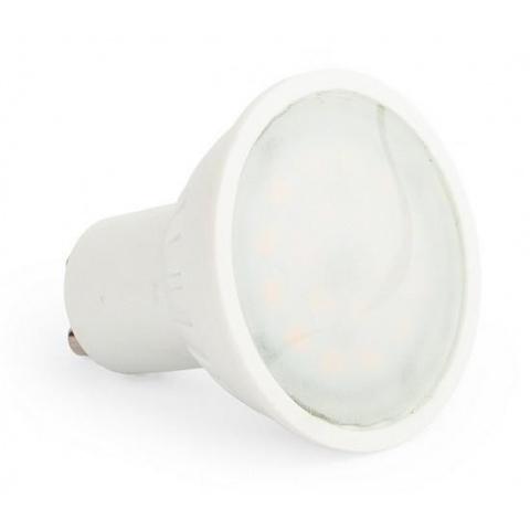 LED žiarovka 6W Neutrálna biela 18 SMD 2835 GU10