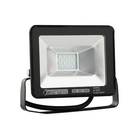 HOROZ Sviet.HL0680030010 reflektor SMD LED 10W 6500K čierna