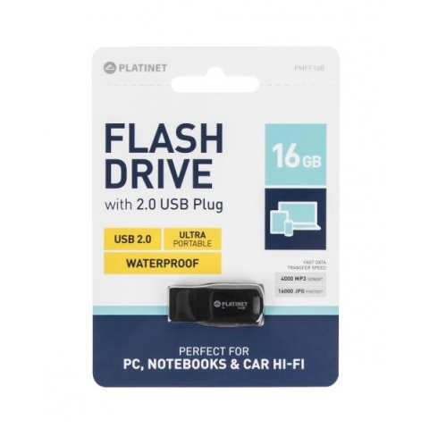 USB kľúč 16GB 2.0 F-Depo waterproof