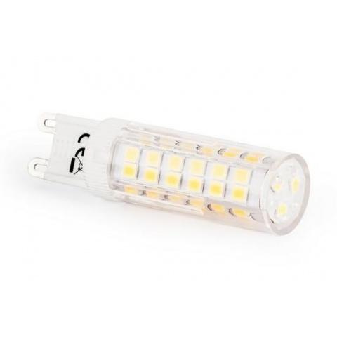 LED žiarovka 6.8W Teplá biela 72 SMD 2835 230V G9