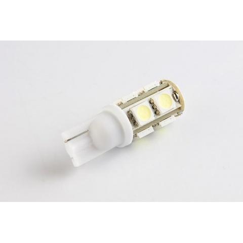 LED auto žiarovka 9 SMD5050, T10