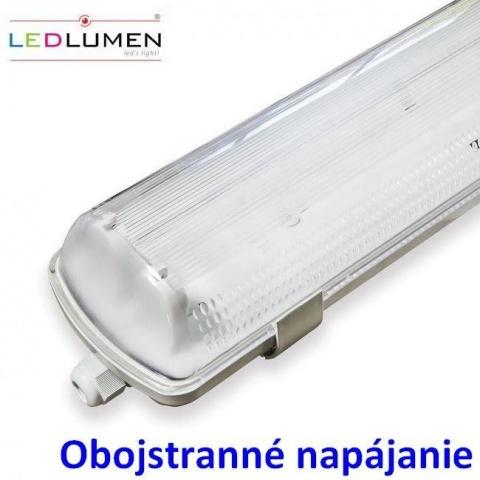 Svietidlo pre 2x60cm LED trubice IP65