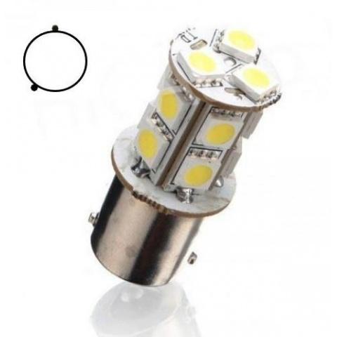 LED auto žiarovka BA15S 13 SMD5050 Py21W
